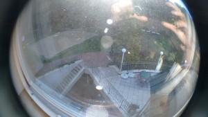 uitzicht uit de Jugendstätte